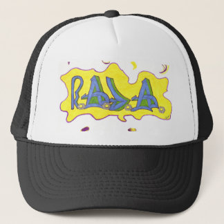 R.A.J.A . TRUCKER HAT