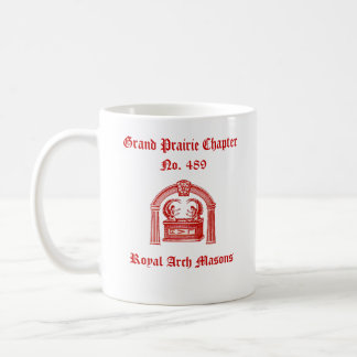 R.A.M. Tribe of Benjamin (Royal Arch Masons) Coffee Mug