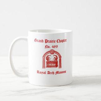 R.A.M. Tribe of Naphtali (Royal Arch Masons) Classic White Coffee Mug