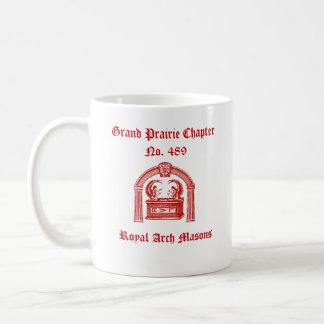 R.A.M. Tribe of Simeon (Royal Arch Masons) Classic White Coffee Mug