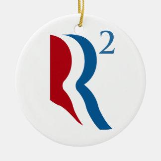 R AJUSTADO - ROMNEY RYAN 2012 png Ornamentos De Navidad