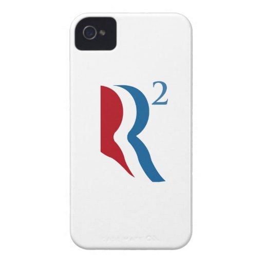 R AJUSTADO - ROMNEY RYAN 2012.png Case-Mate iPhone 4 Funda
