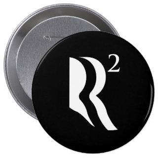 R AJUSTÓ - ROMNEY RYAN 12 - .PNG PIN REDONDO 10 CM
