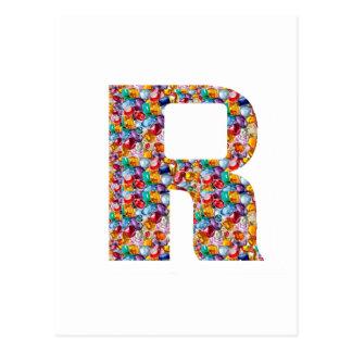 R alfa K J I de los REGALOS de la DIVERSIÓN 9 de Postal
