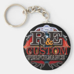 R and E Customs Keychain