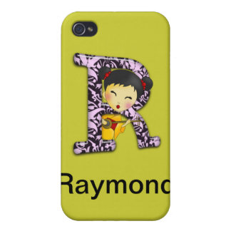 R Asian Girl iPhone 4/4S Cases