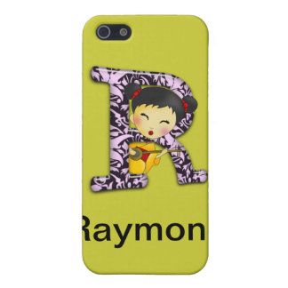 R Asian Girl iPhone 5 Cases