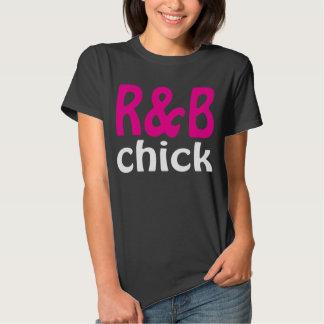 R&B Chick T Shirt Dark