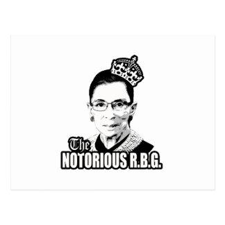 R.B.G. notorio Postales