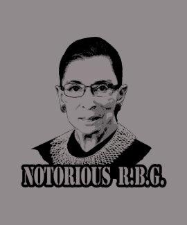 R.B.G. notorios - Ruth Bader Ginsburg Tee Shirt