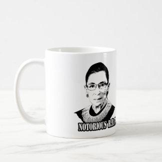 R.B.G. notorios - Ruth Bader Ginsburg Tazas De Café
