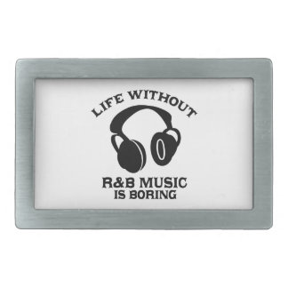 R & B Music designs Belt Buckle