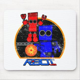 R-Bot VS. Vintage Mousepad