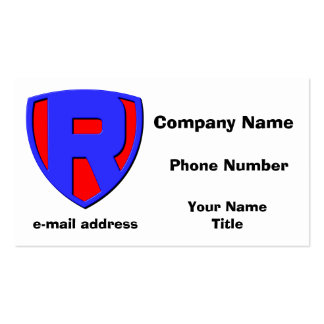 R BUSINESS CARD TEMPLATE