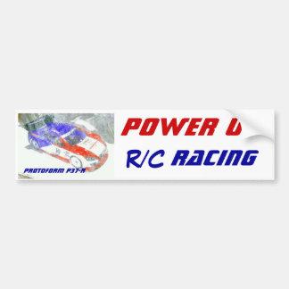 R/C Bummper Sticker Power up