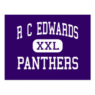 R C Edwards - Panthers - Junior - Central Postcard