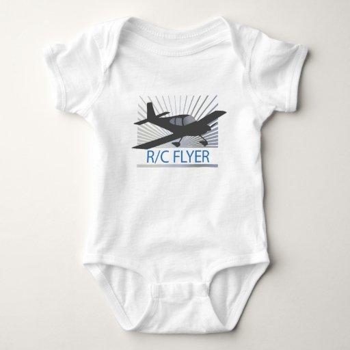 R/C Flyer Baby Bodysuit