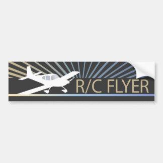 R/C Flyer Bumper Stickers