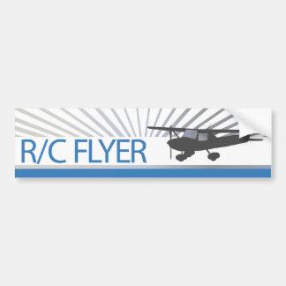 R/C Flyer Bumper Sticker