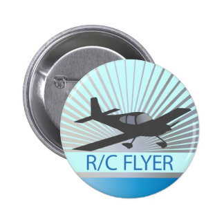 R/C Flyer Pinback Buttons