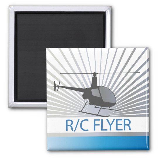 R-C Flyer Copter Magnet