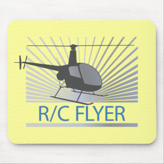 R-C Flyer Copter Mouse Pad