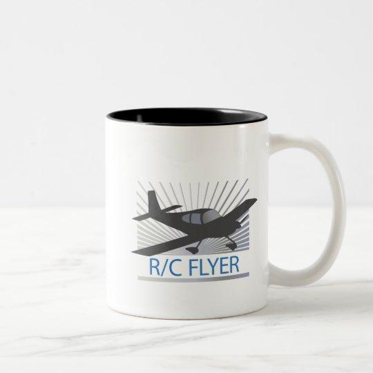 R/C Flyer Two-Tone Coffee Mug