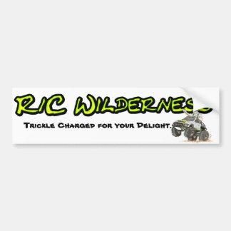 R/C Wilderness Bumper Stigger Bumper Sticker