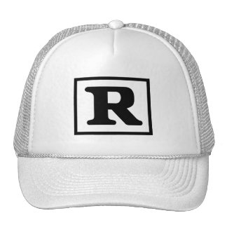 R clasificado gorra