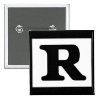R clasificado, sistema de calificación pin cuadrado