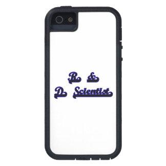 R & D Scientist Classic Job Design iPhone 5 Case
