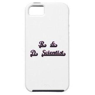 R & D Scientist Classic Job Design iPhone 5 Cases