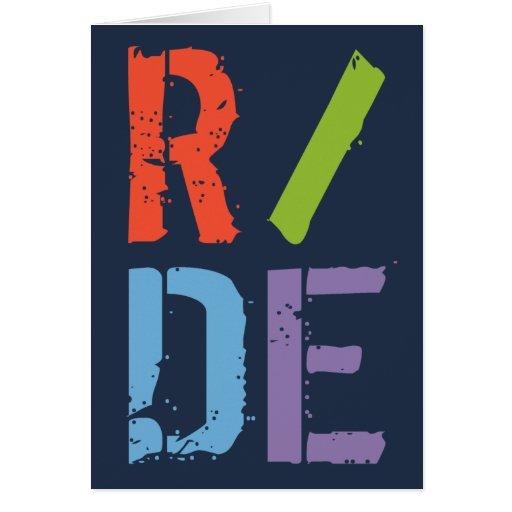 R/DE II GREETING CARD