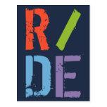 R/DE II POST CARD