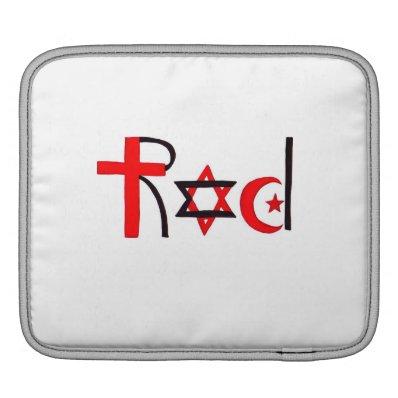 R,E.D. iPad Sleeve
