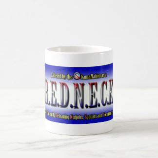 R.E.D.N.E.C.K. CLASSIC WHITE COFFEE MUG