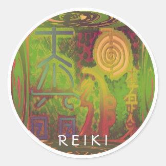 R E I K I   World Sticker