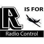 R está para el control de radio escultura fotografica