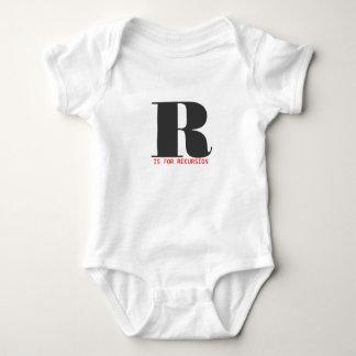 R está para la repetición body para bebé