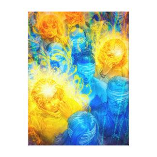 R_Evolution · Canvas/Linen cloth Canvas Print