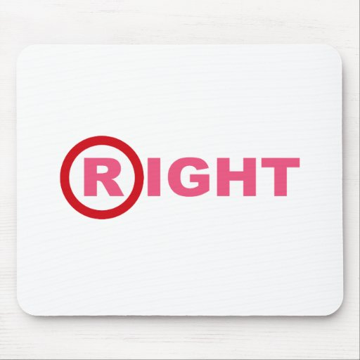 R for Republican Mouse Pad
