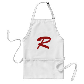 R for Ridiculously Good Looking Adult Apron