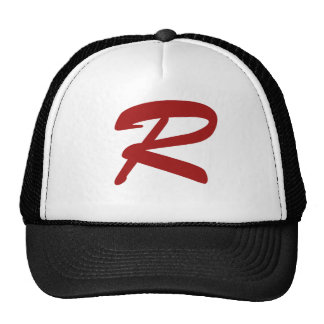 R for Ridiculously Good Looking Trucker Hats
