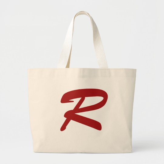 R for Ridiculously Good Looking Large Tote Bag