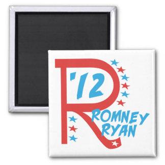 R grande Romney Ryan Imán Cuadrado