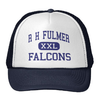 R H Fulmer Falcons Middle West Columbia Trucker Hats