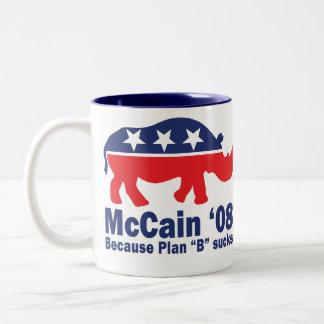 R(h)ino McCain '08 Mug