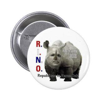 R.I.N.O. McCAIN Button