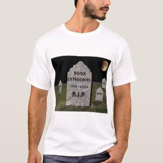 R.I.P. Book Categories T-Shirt
