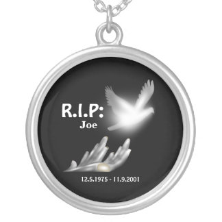 R.I.P/Condolence/In Memory of Necklace